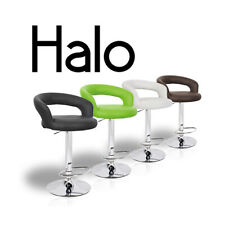 NEW MODERN BARSTOOL - ADJUSTABLE BAR STOOL CHAIR - ADJUSTING HEIGHT HALO LEATHER
