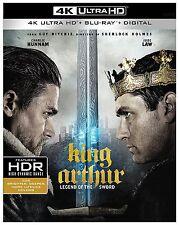KING ARTHUR: LEGEND OF SWORD  (4K ULTRA HD) - Blu Ray -  Region free