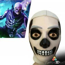 Fortnite Skull Teschio Trooper mask Cosplay Accessory maschera lattice CARNEVALE