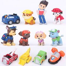 12 Pcs - Paw Patrol CAKE TOPPER Figures - Puppies Toy Dog Birthday Party Favor