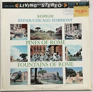 FRITZ REINER / RESPIGHI Pines of Rome RCA Living Stereo LSC-2436 EX/VG++ **TAS**