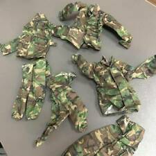 "Lot 3 Camouflage Airborne 21ST CENTURY uniform For 12"" DRAGON GI JOE 1/6  #K1"