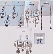 NEW NWT $70 Wholesale Lots FREE SHIPPING 6 Dangle Earrings Fashion Jewelry NIP