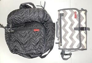 Skip Hop diaper bag backpack & Changing Pad, EUC…used couple Of Times Maybe