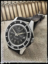 men's SICURA BREITLING VINTAGE OVERSIZED DIVER SUB WATCH UHR MONTRE VERY RARE