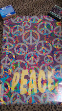 PEACE - POSTER 1994 Peace Sign Art by Gregory Sams Funky Posters 22 1/4 x 34 1/4