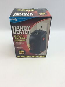 JML Handy Heater Compact Plug-In Digital Electric Heater with LED Display 500W