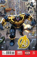 AVENGERS #27, Dustin Weaver 1:50 variant cover, Marvel Comics (2014)