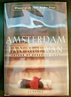 """Amsterdam"" by Ian McEwan - SIGNED 1st - BOOKER PRIZE Winner"
