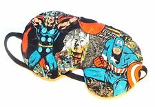 Sleep Mask - Thor and Captain America  - Comes As Shown