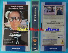 film VHS cartonata PINK CADILLAC Clint Eastwood SIGILLATA DEAGOSTINI (F91)no dvd