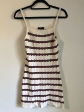 The Fifth Label Striped Knit Mini Dress - MEDIUM (half price)