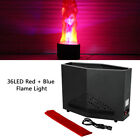 New 36 LED Red  Blue Flame Light Stage Light Effect Fire Flame Party DJ Concert