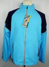 New Mens Sun Mountain Blue/Navy/Titanium HeadWind Windproof Lightweight Jacket M