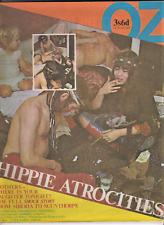 OZ # 25 magazine UK issue December 1969 Counter-Culture Hippie Atrocities