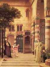 Leighton Old Damascus Jew S Quarter A4 Print