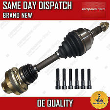 VW TOUAREG 3.0,3.2,3.6 DRIVESHAFT & CV JOINT OFF/RIGHT/DRIVER SIDE 2002>2010 NEW