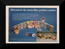 PUB PUBLICITE FEUFOLLETTE POUSSINET EL GRECO 70's  poupée doll bambola