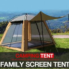 Outdoor Camping Hiking 4 Doors Family Automatic Waterproof Pop Up Instant Hood