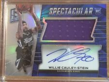2015-16 Spectra Spectacular Rookie Jersey Auto Willie Cauley-Stein /149 Kings!