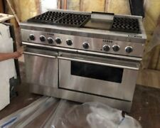 Thermador PRG486GDH Stainless Steel 48 in. Gas Kitchen Ranges - Silver.