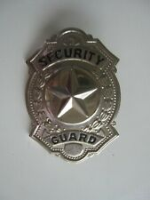 Vintage Collectible Security Guard Badge  BIS