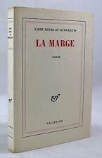 PIEYRE DE MANDIARGUES, André — La Marge — 1967 — EO avec ex-libis