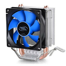LED Dual CPU Cooler Fan Heatsink for Intel Socket LGA1156/LGA1155/LGA775 AMD AM3