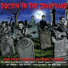 Rockin' In The Graveyard 2-CD NEW SEALED Gene Vincent/Link Wray/Johnny Burnette+