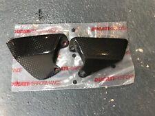 Ducati performance superbike carbon fibre heel guards  916 996 998 748