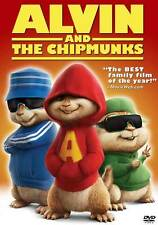 ALVIN AND THE CHIPMUNKS Movie POSTER 27x40 G Jason Lee David Cross and CGI