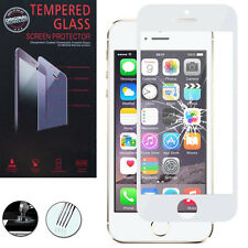Film Verre Trempe Protecteur Protection BLANC pour Apple iPhone 5/ 5S/ 5SE