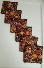 Coasters Set Of 6 Pinecones
