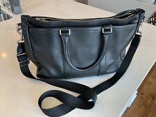 Coach Black Leather Briefcase