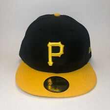 Pittsburgh Pirates MLB New Era 59fifty Fitted Hat Size 7 5/8