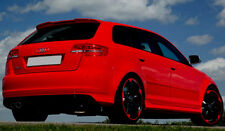 FOR AUDI A3 8P SPORTBACK RS3 LOOK SPOILER ( 2005-2012 )