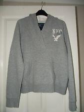 American Eagle Grey NYC Hoodie Sweatshirt size Large BNWOT