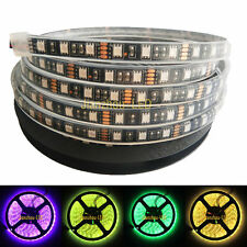 12V 10M 5050 300 LED RGB Strip Light IP68 Waterproof Underwater Xmas Black PCB