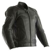 RST GT CE Motorcycle Motorbike Leather Jacket Black / Black