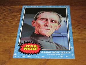 Topps Star Wars Living Set Card 91 Grand Moff Tarkin A New Hope