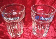 Lot of 2 - Hoegaarden 50 cl Beer glasses (2017-146)