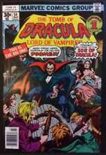 Marvel Comics The Tomb of Dracula Lord Of Vampires (1977) #54 VG