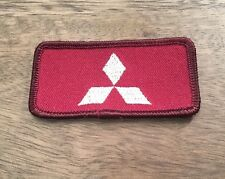 """Mitsubishi Patch 3 x 1 3/4"""" Sew On Embroidered Patch #170"""