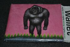 THE GORILLA 2009 MIGHTY WALLET Thin TYVEK  Long Lasting APE Bifold WALLET NEW