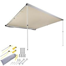 3m x 3m Car Side Awning Roof Rack Top Pull Out Tent Camping Trailer 4X4 4WD