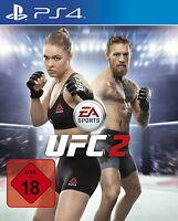 EA Sports UFC 2 (Sony PlayStation 4 Spiel, 2016, USK 18) NEU