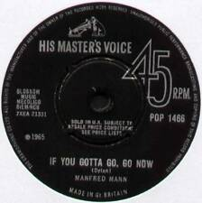 "MANFRED MANN ~ IF YOU GOTTA GO, GO NOW / STAY AROUND ~ 1965 UK 7"" SINGLE [Ref.2]"