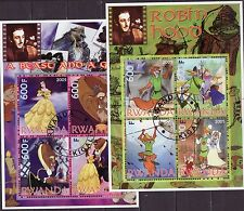 Rwanda 2005 - Walt Disney (Robin Hood & Beauty and the Beast)
