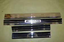 06-09 MERCEDES CLS55 CLS AMG W219 Chrome Door Sill Set