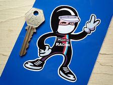 Martini Racing Clásico Conductor 2 saludo dedos Pegatina de Coche Porsche BMW LANCIA